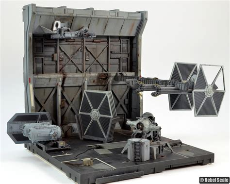 abandoned tie facility rebel scale