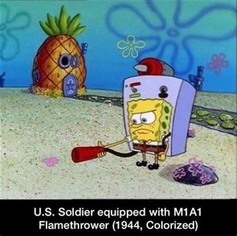 Spongebob History Memes - us flamethrower spongebob history captions know your meme
