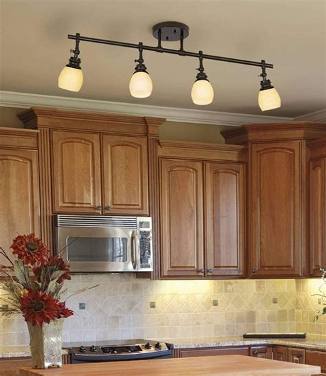 beautiful kitchen track lighting ideas   cool
