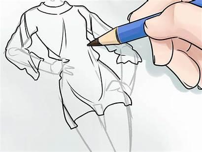Draw Sketches Wikihow Mode Disegnare Moda Come
