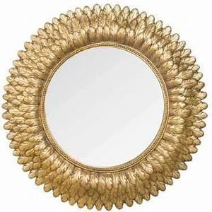 Miroir Doré Rond : recherche miroir du guide et comparateur d 39 achat ~ Teatrodelosmanantiales.com Idées de Décoration