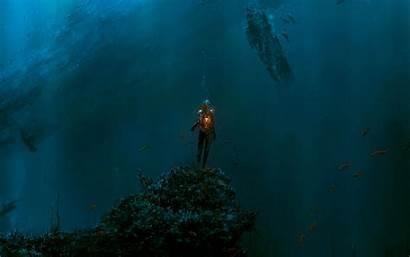 Fantasy Ocean Deep Sea Wallpapers Diving Under