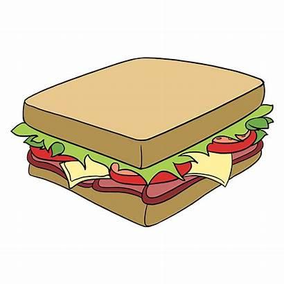 Sandwich Draw Drawing Easy Step