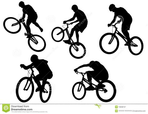 Extreme Sport Bike Stock Vector. Image Of Isolated