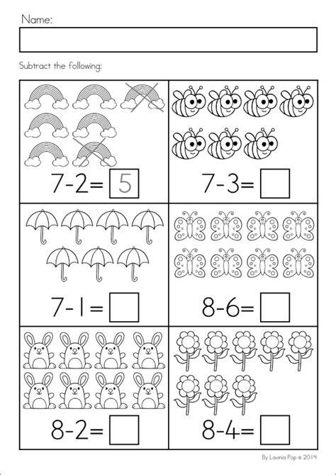 Spring Kindergarten Math And Literacy Worksheets & Activities No Prep  ΜΑΘΗΜΑΤΙΚΑ Pinterest