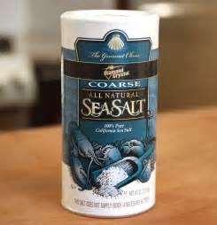 Sea Salt Cooking