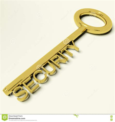 Safe Representing Security Royalty-free Stock Photography