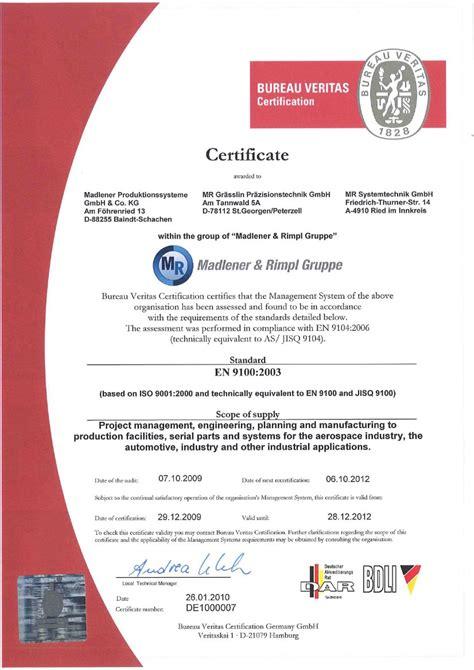 bv portal bureau veritas certificate madlener produktionssysteme gmbh co kg