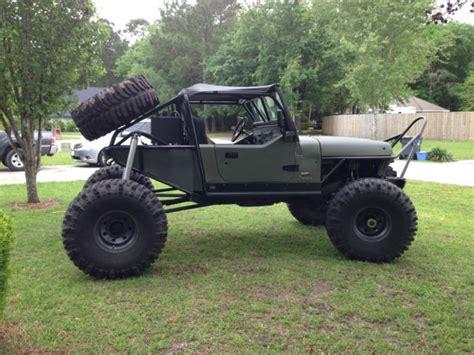 jeep rock crawler 1991 jeep wrangler rock crawler for sale photos