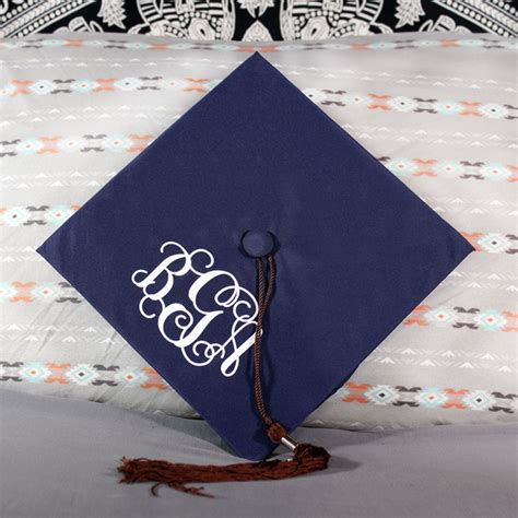 personalized monogram   graduation cap custom graduation supplies  tagdesignscom