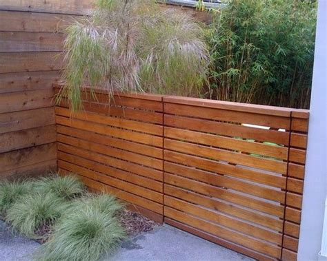Low Fence And Gate For Side Yard