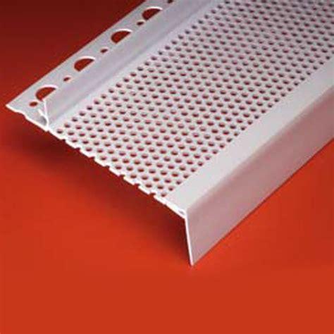 piece continuous soffit vent      vents plastic components