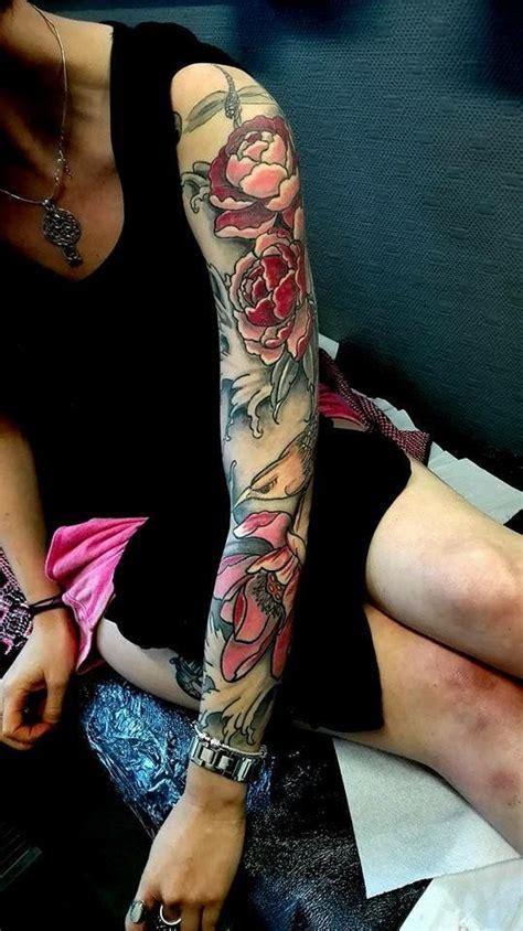 tatouage japonais avant bras femme