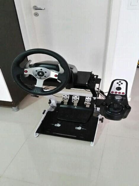 volante logitec playstation3 volante profissional logitec metralhadora