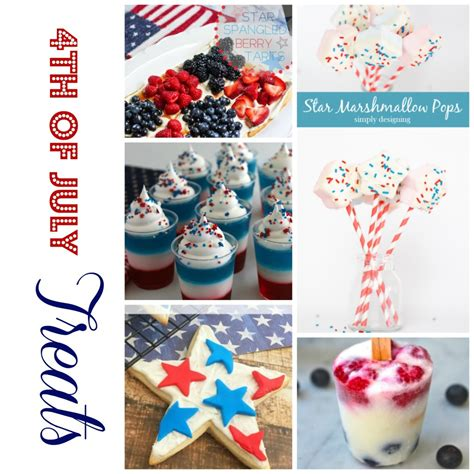 4 of july treats 4th of july treats monday funday party wait til your father gets home