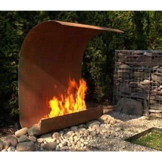 steel outdoor fireplace ideas  foter