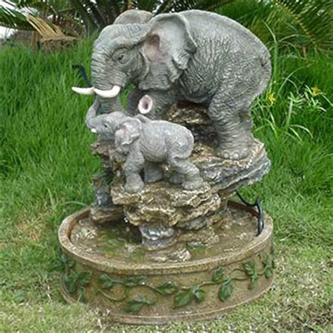 Elephant Garden Decoration by Elephant Water Images