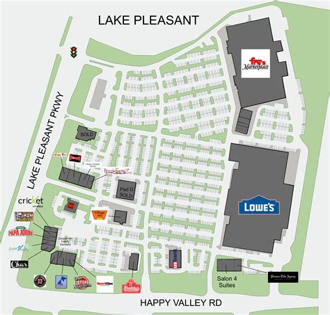Peoria Az Lake Pleasant Crossing  Retail Space For Lease
