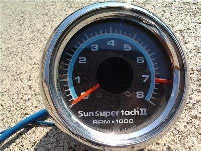 Sun Super Tach Wiring Diagram