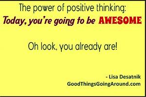 Power Of Positive Thinking Quotes. QuotesGram