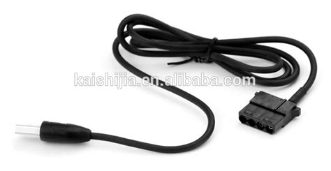 usb to 4 pin fan connector wholesale price 4 pin molex to usb adapter cable for