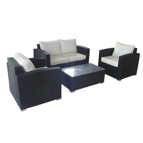 discount rattan furniture single wicker sofa set