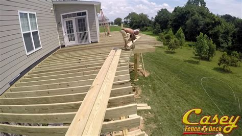 curved deck framing casey fence  deck youtube
