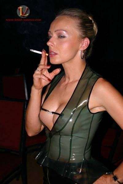 The Beautiful Mature Smoking Fetish Goddess Knows How To