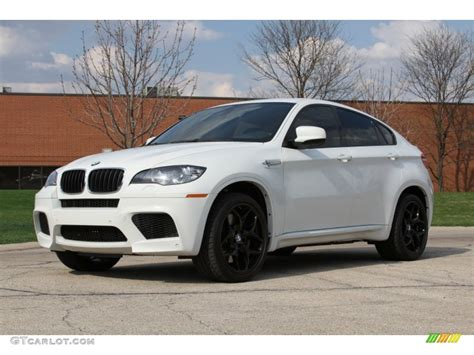 Alpine White 2011 Bmw X6 M M Xdrive Exterior Photo