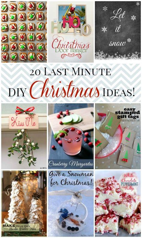 20 last minute christmas ideas