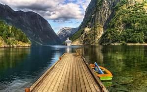 Nature, Mountains, Lake, Hd, Wallpapers