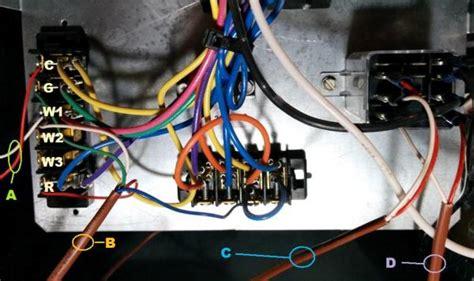 wiring an aprilaire 600m to a lennox cbwmv doityourself com community