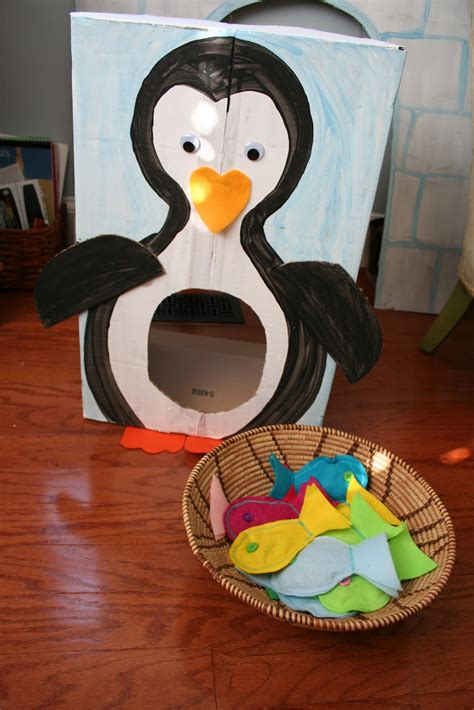 penguin    stuffed animal birthday party