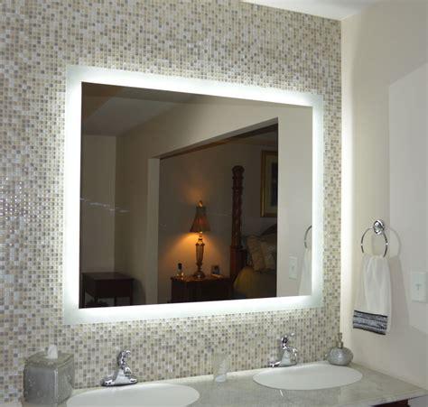 lighted bathroom wall mirror pixballcom