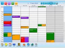 website design select a work week schedule User