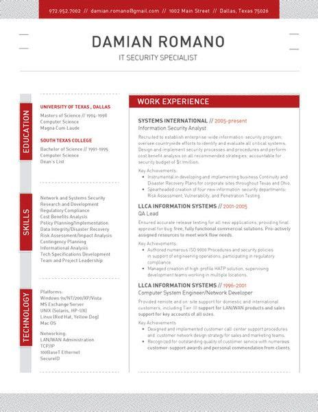 22180 resume template website 52 best contemporary resumes images on resume