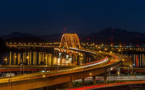 seoul banghwa bridge   han river  south korea