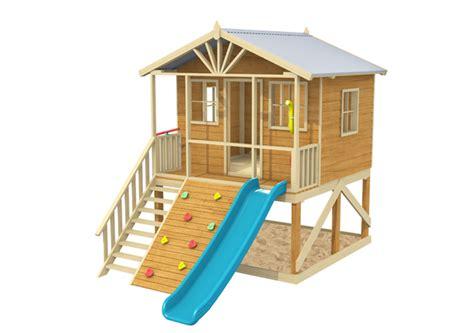 Rivergum Timber Cubby House Playground Equipment