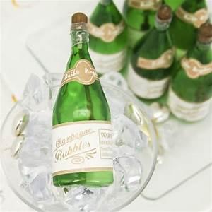mini champagne bubble favors With mini champagne wedding favors