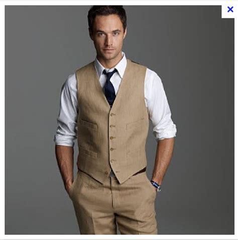 Groomsmen wearing Pants and vests ONLY   Weddingbee