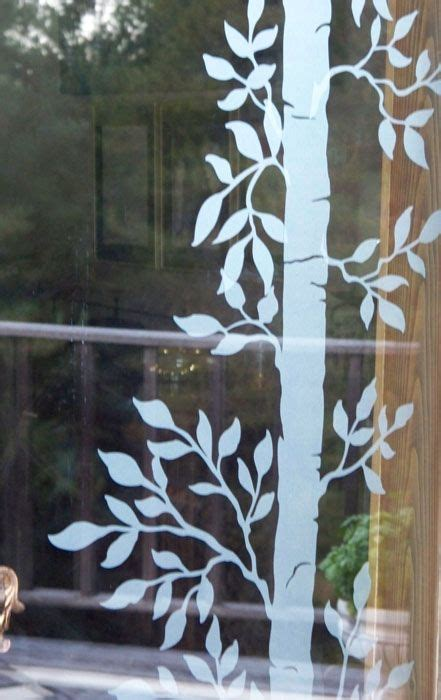 frosted window decal window coverings elegant home
