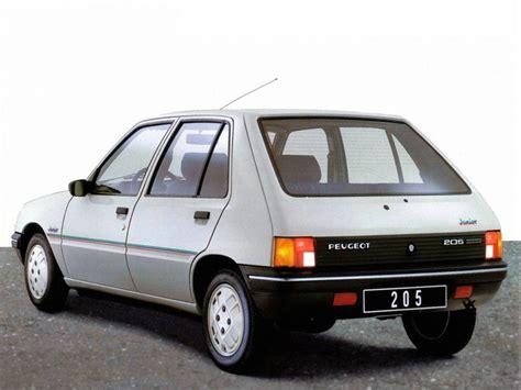 peugeot 4 door peugeot 205 5 doors specs 1983 1984 1985 1986 1987