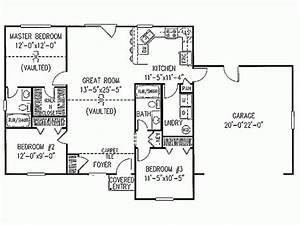 Simple Ranch House Plans | Smalltowndjs.com