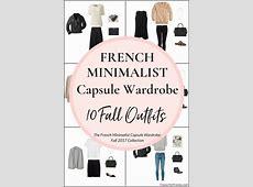 Create a French Minimalist Capsule Wardrobe 10 Fall