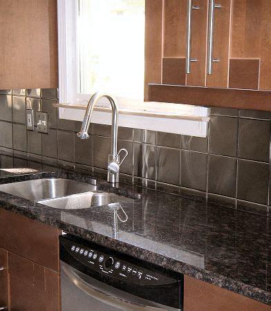 metal kitchen backsplash ideas 36 best images about kitchen on oak cabinets 7452