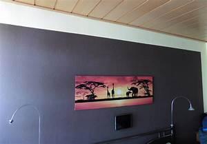 Graue Farbe Wand : wand streichen mit wei em rahmen verschiedene ideen f r die raumgestaltung ~ Sanjose-hotels-ca.com Haus und Dekorationen