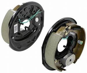Electric Trailer Brake Kit - 10 U0026quot  - Left And Right Hand Assemblies