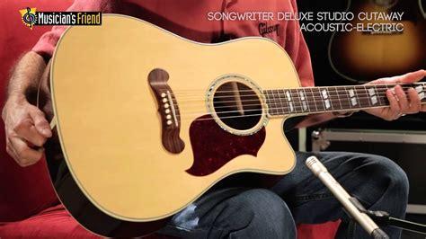 Gibson Songwriter Deluxe Studio Acoustic-Electric Cutaway ...