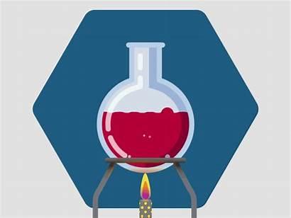 Flask Round Laboratory Dribbble Lab Bonnet Julien