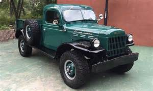Italian Home Interiors If You Want Leather And Luxury Maybe This 1947 Dodge Power Wagon Isn T For You